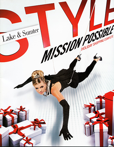 My November 2010 cover for Lake & Sumter Style Magazine after its purchase by Akers Media. Model: Tiffany Roach. ©Steven Paul Hlavac and Akers Media Group. All rights reserved.
