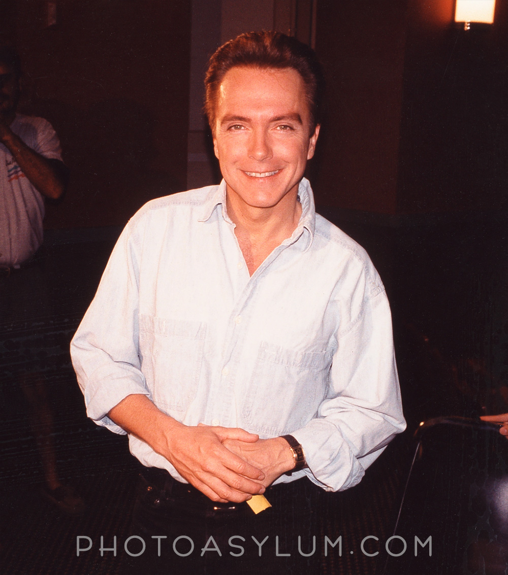 The original photo of David Cassidy. The gallery piece for South Beach Poparazzi will look much different. ©Steven Paul Hlavac. All rights reserved.