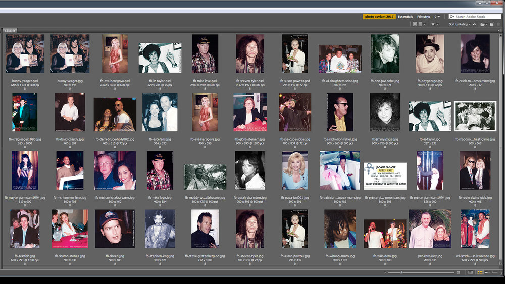 This is but a small sample of the many celebrity photos I've taken. I have a huge pool of images to choose from. ©Steven Paul Hlavac. All rights reserved.
