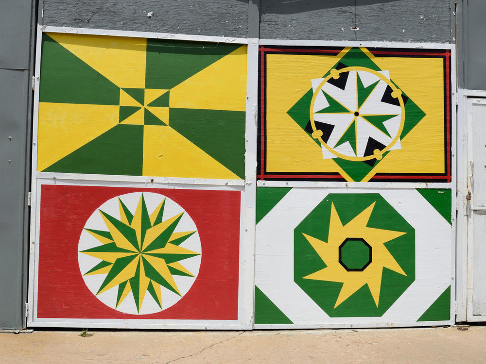 Barn quilt in Abilene, KS