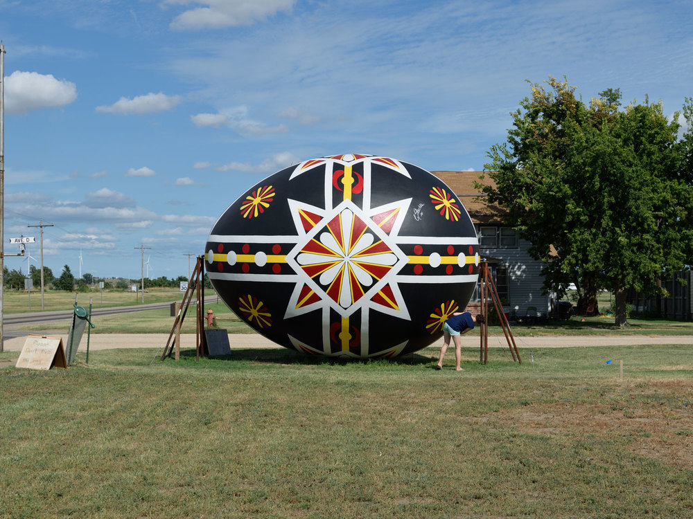 World's Largest Czech Egg in Wilson, KS
