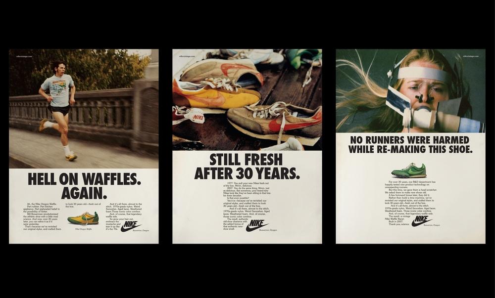 Classic Nike Print Ads
