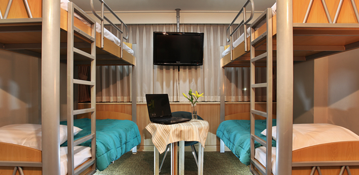 Double Bunk Room https://www.parktel.co.kr/