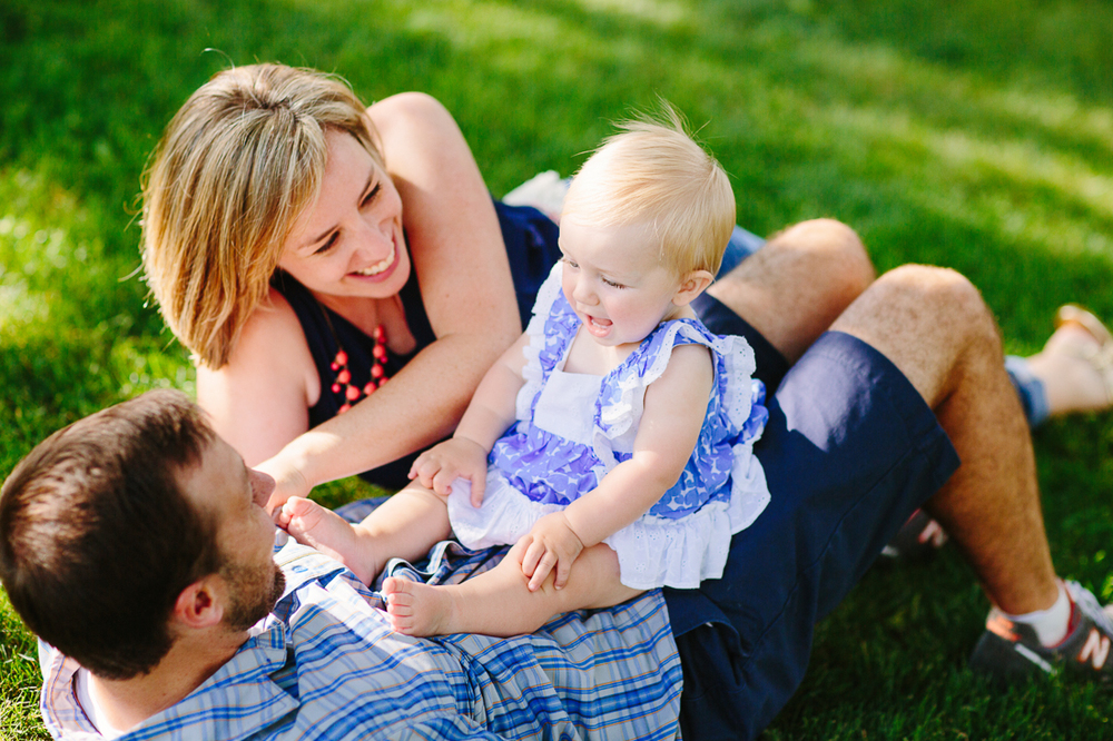 Family portrait by Grand Junction Photographer