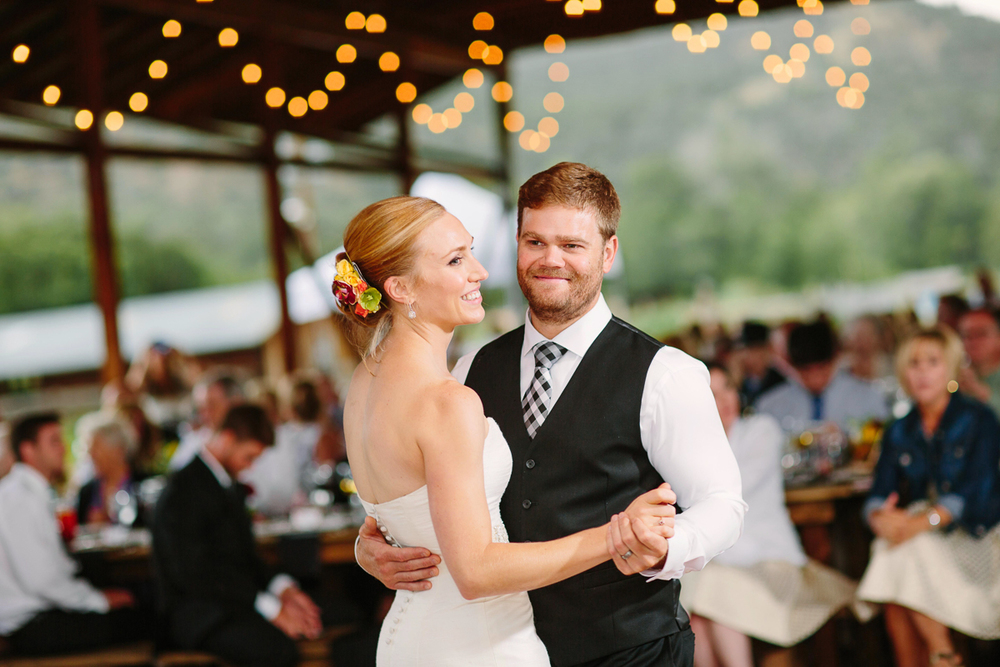 Aspen wedding reception at Rock Bottom Ranch/ Aspen wedding photographer / www.catmayerstudio.com