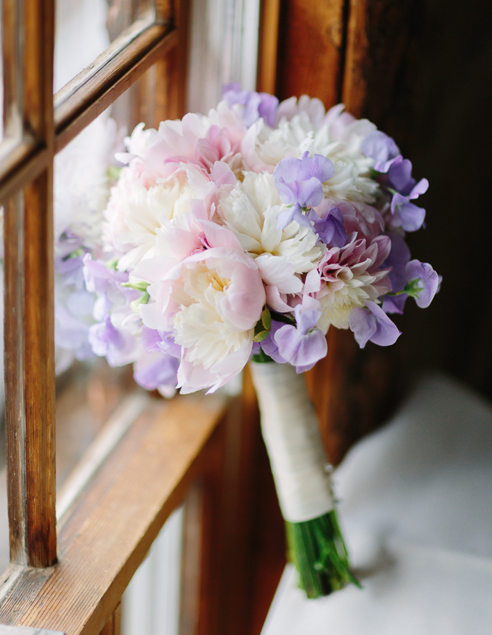 Bridal bouquet from New Leaf Floral