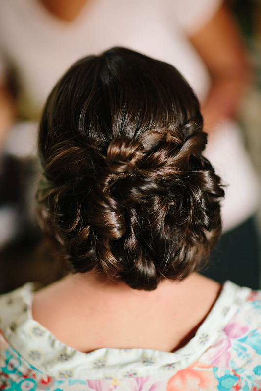 Wedding updo hairstyle | Cat Mayer Studio