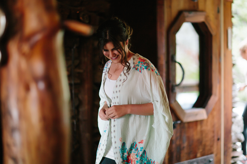 Bride before wedding | Alta Lakes Telluride | Cat Mayer Studio