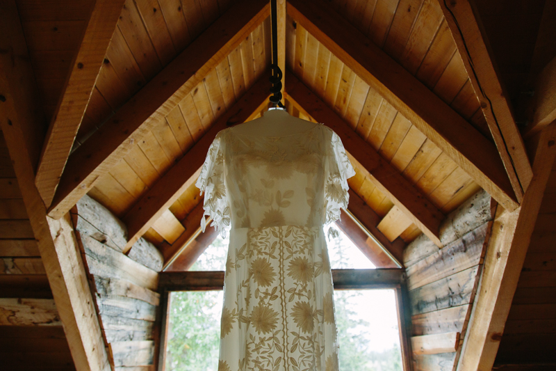Lace wedding dress designed by Rue de Seine, from A&Be - Denver