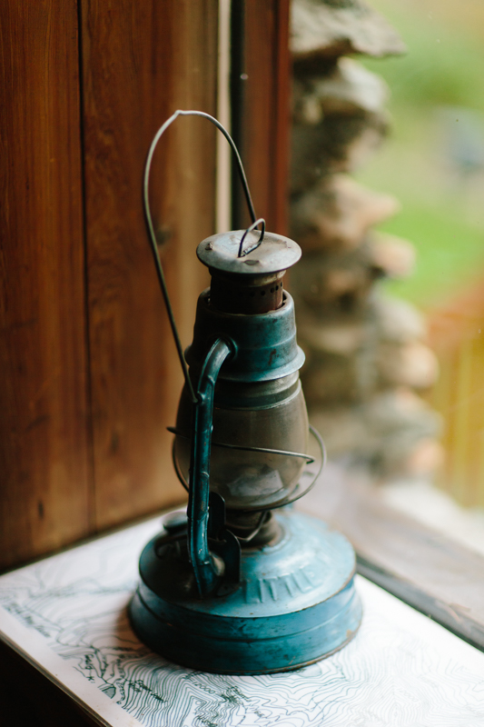 Antique lantern | Alta Lakes Observatory | Cat Mayer Studio