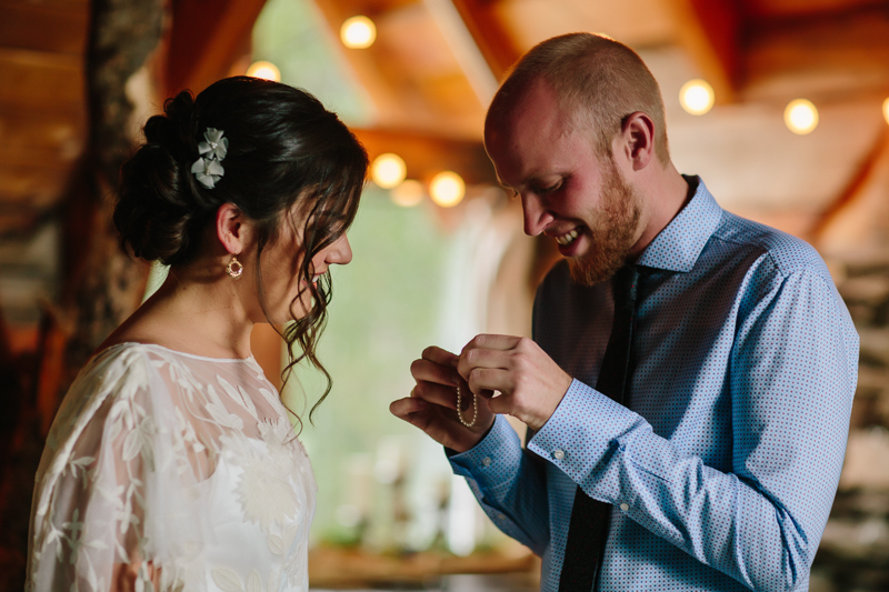 Alison & Josh getting ready | Alta Lakes Telluride wedding | Cat Mayer Studio