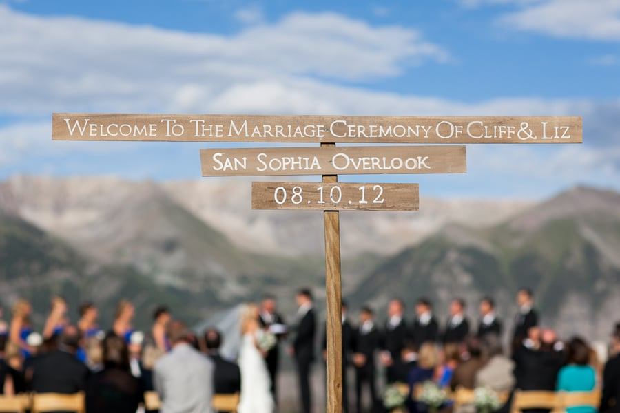San Sophia wedding / Telluride wedding photographer / Cat Mayer Studio