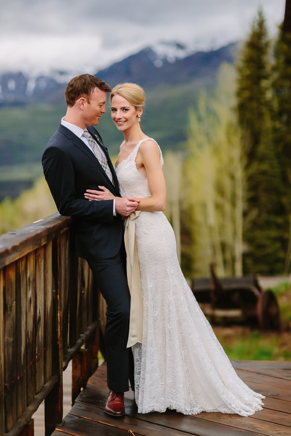 Bride and groom at Gorrono Ranch | Telluride wedding photographer | Cat Mayer Studio