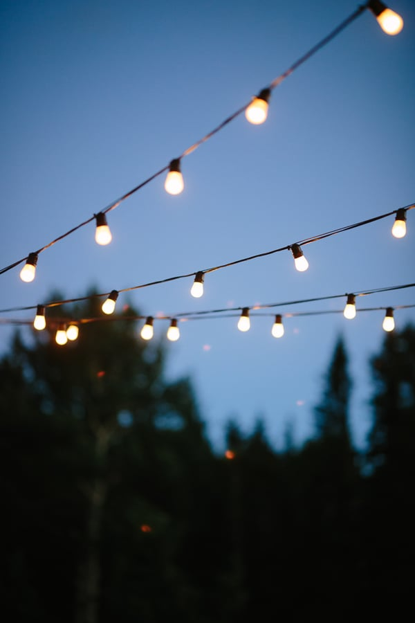 Lights at Gorrono Ranch | Telluride wedding | Photo by www.catmayerstudio.com