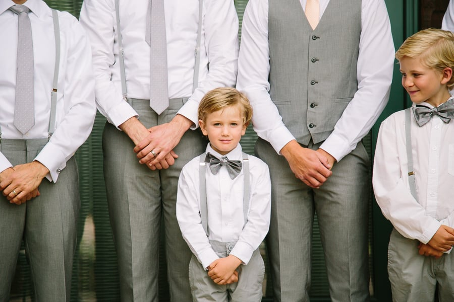 Groomsmen and ring bearers | Ritz Carlton Bachelor Gulch wedding | Photography: Cat Mayer Studio www.catmayerstudio.com