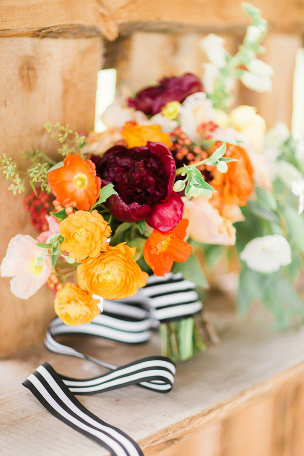 Bridal bouquet by 3 Leaf Floral | Aspen wedding | Cat Mayer Studio www.catmayerstudio.com