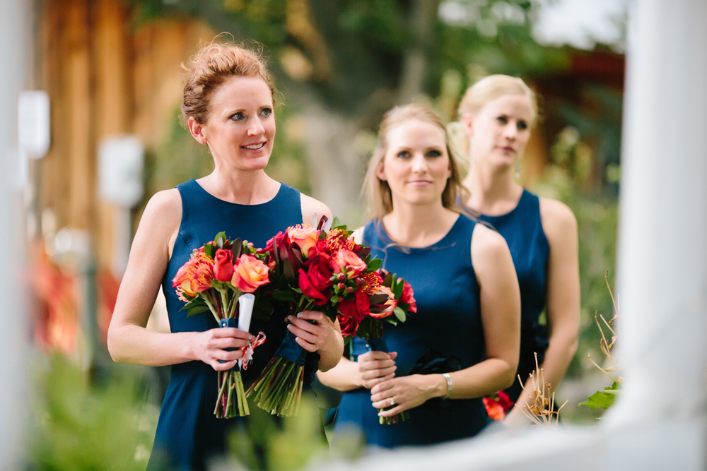 Cat Mayer Studio | www.catmayerstudio.com | Grand Junction Wedding Photography | Navy bridesmaids dresses