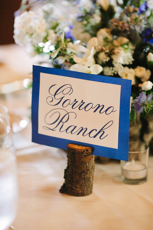 Cat Mayer Studio | www.catmayerstudio.com | Telluride wedding photographer | Gorrono Ranch table signage