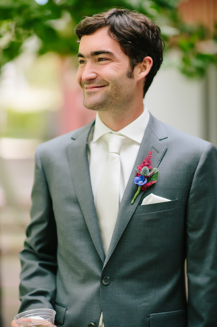 Groom Smiling | Flying Dog Ranch Wedding | Cat Mayer Studio | www.catmayerstudio.com