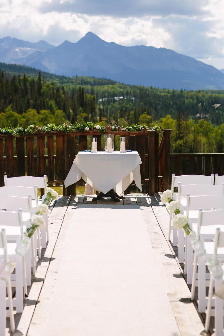 Wedding Ceremony in Gorrono Ranch, Telluride| Cat Mayer Studio | www.catmayerstudio.com