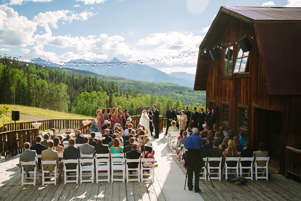 Telluride Wedding Photography | Beautiful Outdoor Telluride Colorado Wedding | Cat Mayer Studio | www.catmayerstudio.com