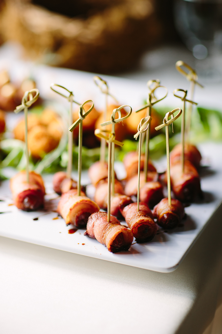 Bacon Appetizers at Telluride Wedding | Photography by Cat Mayer Studio | www.catmayerstudio.com