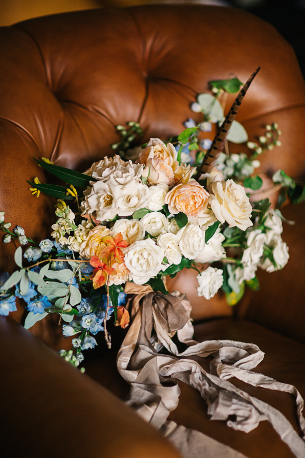 Wedding bouquet by 3 Leaf Floral | catmayerstudio.com
