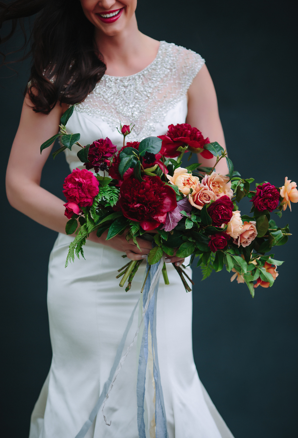 Grand Junction Wedding Flowers by 3 Leaf Floral / photo by Cat Mayer Studio