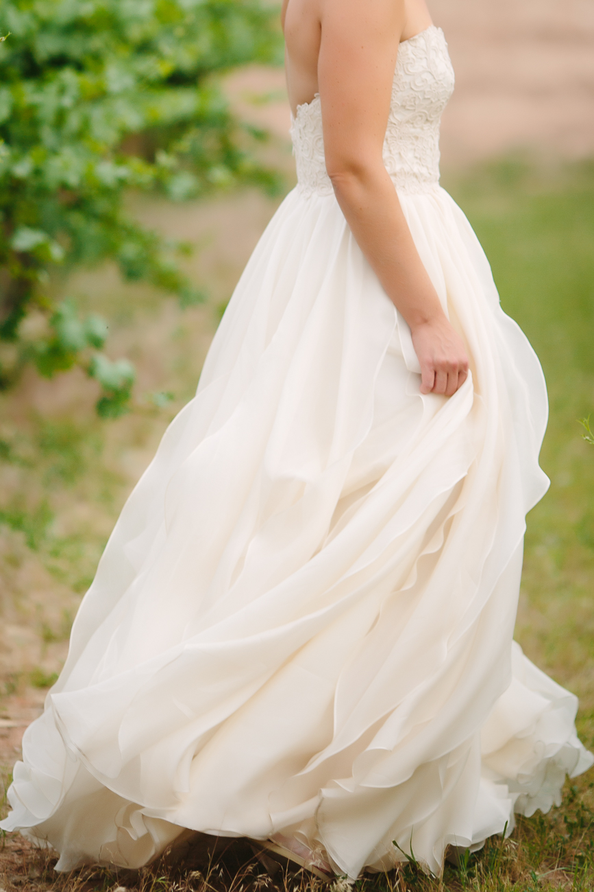Princess Cut Dress for June Wedding | Cay Mayer Photography | www.catmayerstudio.com