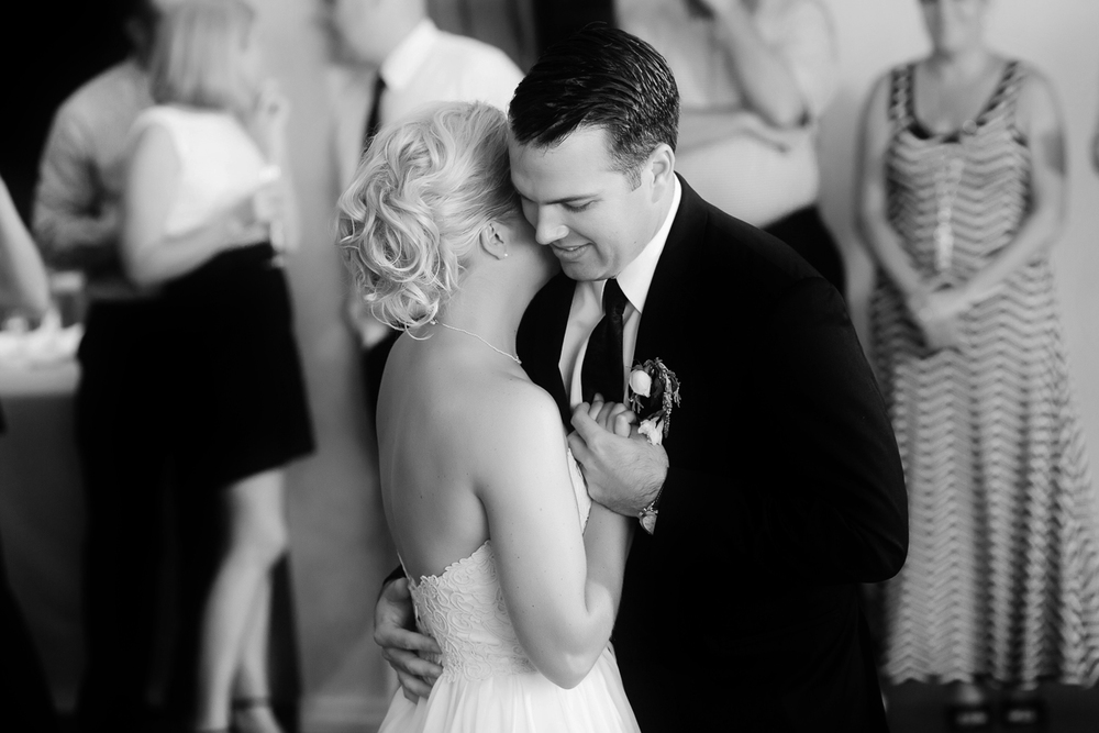 Couple Share a Moment During Wedding | Cay Mayer Photography | www.catmayerstudio.com