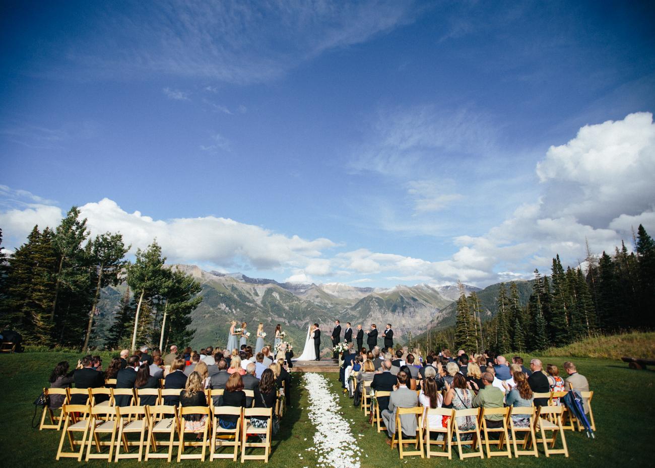 Emerald valley ranch wedding