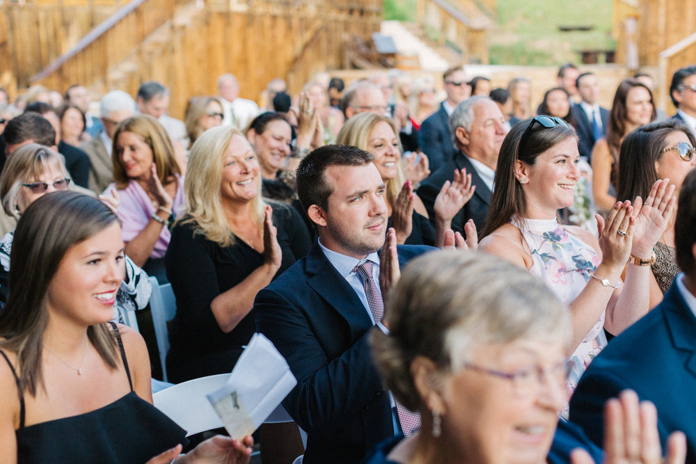Destination gay wedding at Gorrono Ranch in Telluride, Colorado. Photo: Cat Mayer
