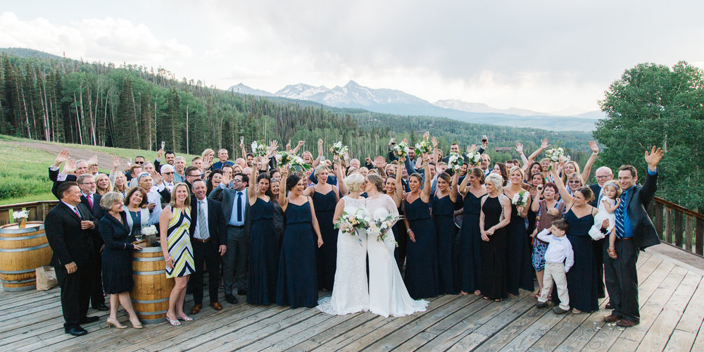 Destination Wedding in Telluride