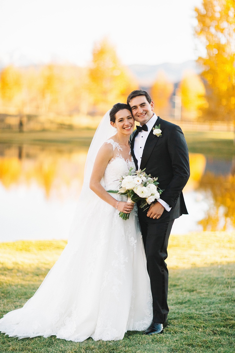 Bride & Groom at Aspen Ranch Destination Wedding | Cat Mayer