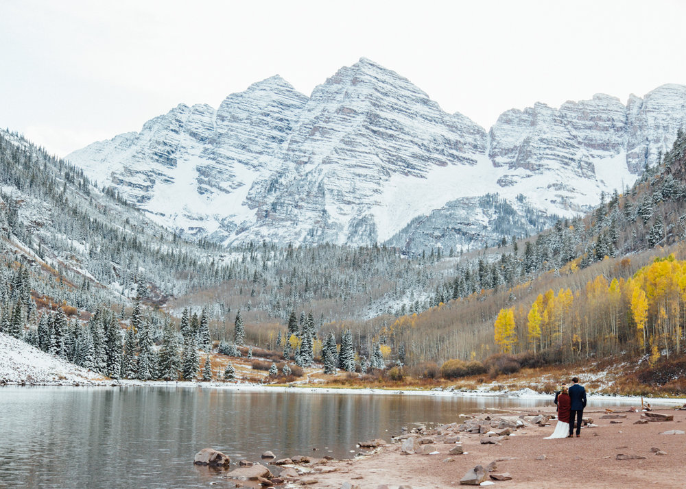 Cat Mayer | Aspen Destination Wedding at Maroon Bells