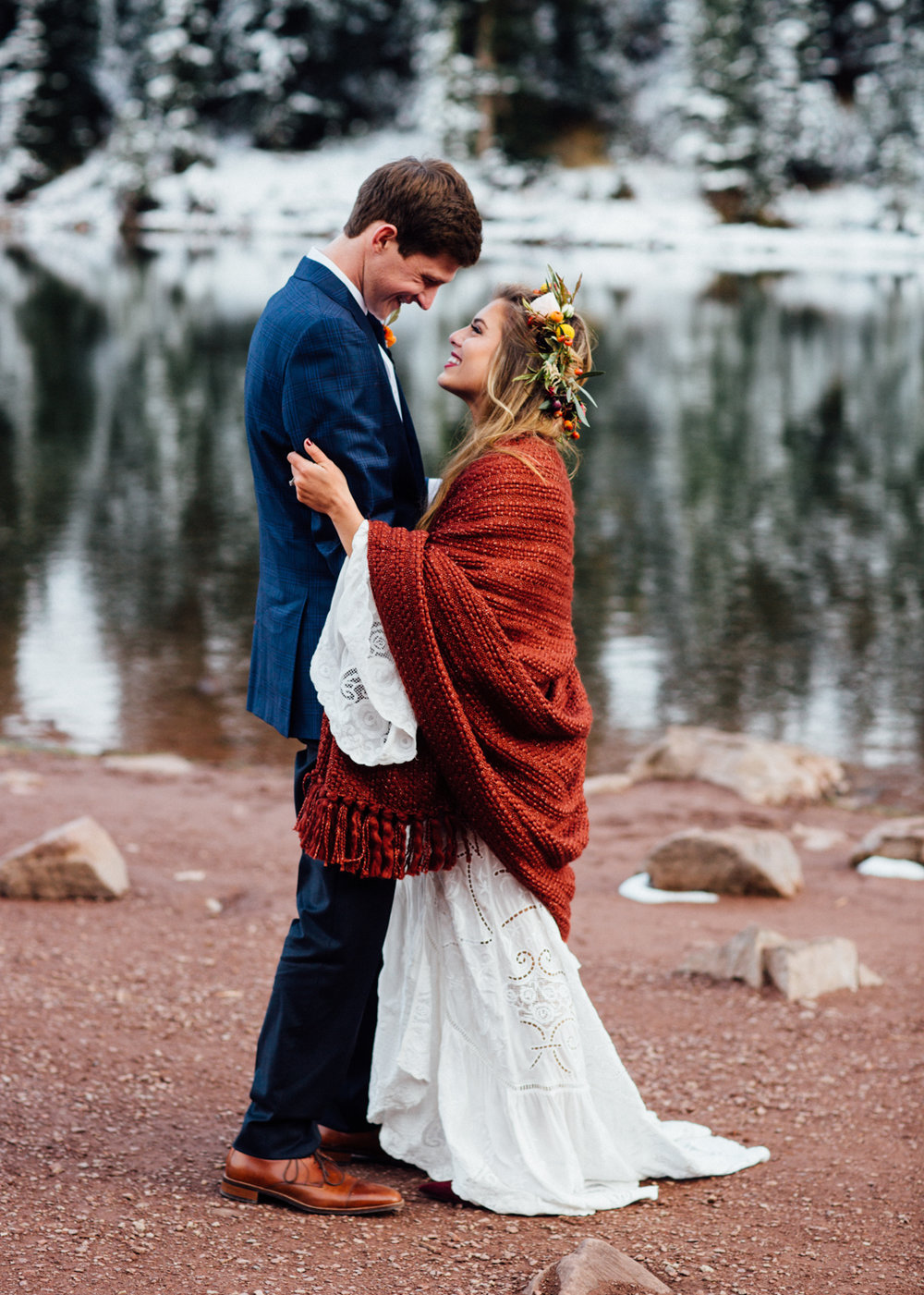Cat Mayer | Aspen Destination Wedding at Maroon Lake