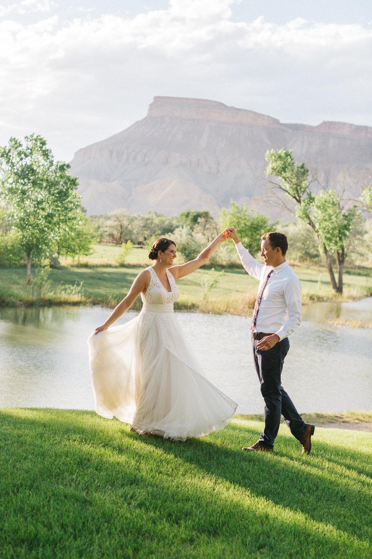 Palisade River Ranch Wedding