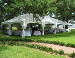 A Frame tent is constructed with a metal frame that has no center poles. Frame tents offer infinite decorating and layout possibilities. & Tent Rentals u2014 A-1 Rentals