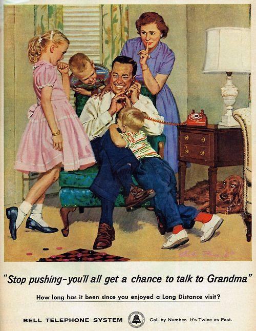 1959 Bell Telephone System advertisemen