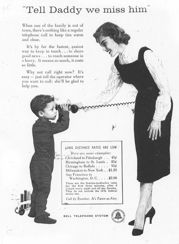 1930 Bell Telephone System advertisement