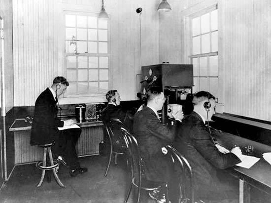 November 1920: KDKA's First Broadcas