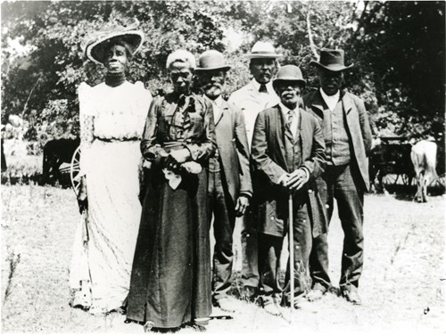 Texas Juneteenth Day Celebration, 1900 (Austin History Center, Austin Public Library)   Photo by PBS.