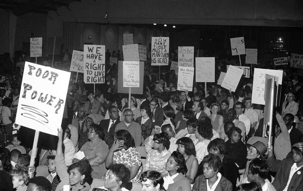 Poor People's Campaign, 1968   Photo by The Nation.