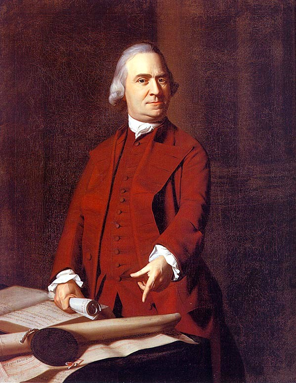 """Portrait of Samuel Adams (1738-1815)"" by John Single Copley licensed under CC BY 2.0"