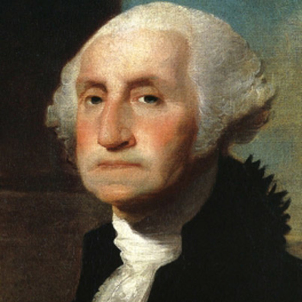 George Washington (1732-1799) - This Virginia-native served as the first President of the United States from 1789-1797. George Washington was one of the leading Patriots and played a major role in drafting the Constitution of the United States in 1787; he set up protocols in the new government's war between Britain and France. The Proclamation of Neutrality, Jay Treaty and other reforms under his leadership supported his beliefs in avoiding war with Britain at all costs. He returned to farming after his tenure as a president. Upon his death, he was famously eulogized as