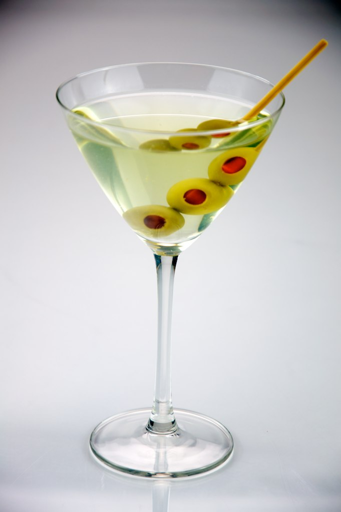 The Martini - Tried and true, the martini makes you look classy, professional, intelligent, elegant, and knowledgeable in liquor. The classic recipe contains gin and dry vermouth (with olives if you wish), but the gin is regularly substituted with vodka.