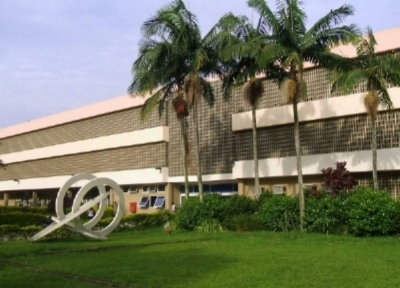 The Main building of the University of São Paulo School of Communications and Arts.