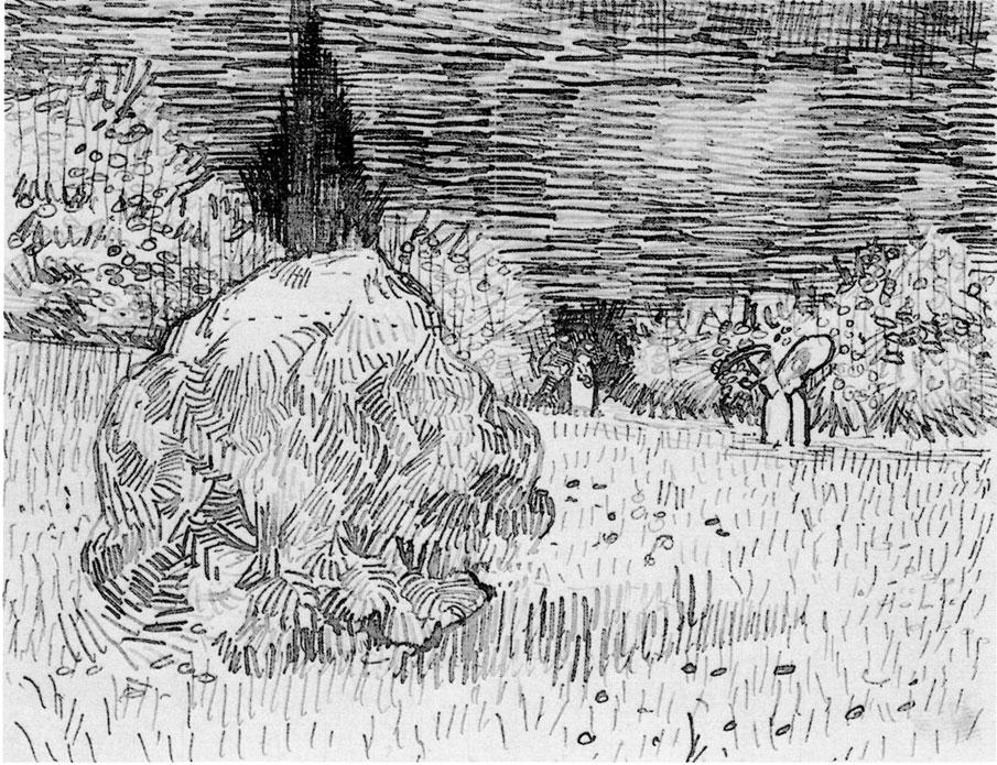 Van_Gogh_-_Busch_im_Park_von_Arles_-_Der_Garten_des_Dichters