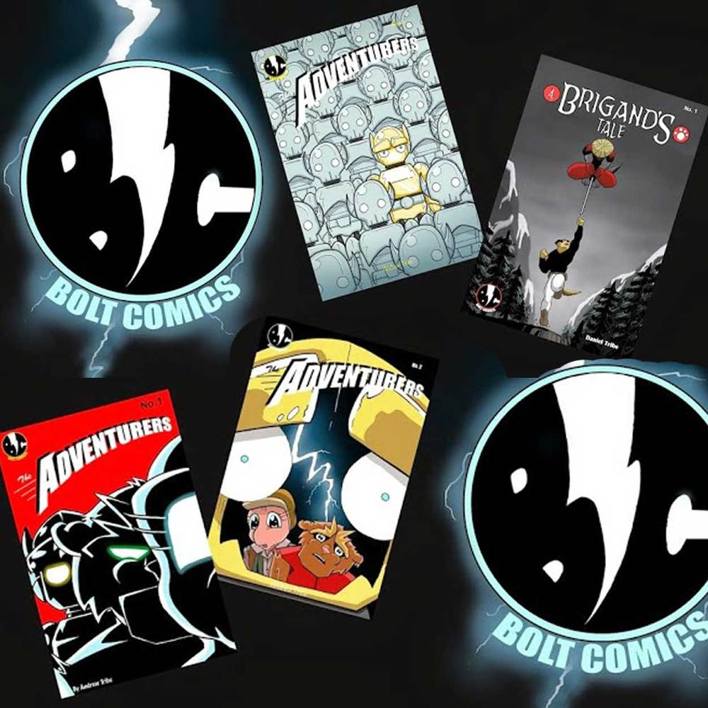 Bolt Comics makes comics everyone can enjoy! They also do one off commissions and sell the original artwork of their pages. Find out more here.