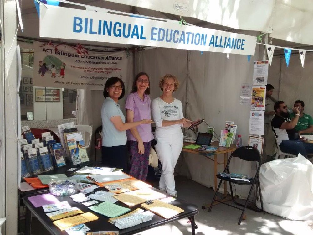 The   ACT Bilingual Education Alliance (ACTBEA)   is a local non-profit community group that promotes the value of knowing more than one language. ACTBEA works with families and formal language education providers, both mainstream and community based, to encourage and support Canberrans of all ages to develop their bilingual skills. For more information:  http://actbilingual.weebly.com/